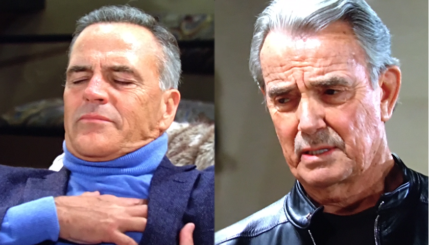 Young And The Restless Scoop: Victor Newman Watches Ashland Locke Writhe In Pain