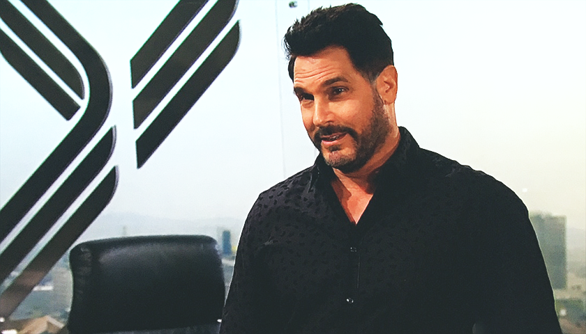 Bold And The Beautiful Scoop: Bill Spencer Interrupts Baker's Interrogation