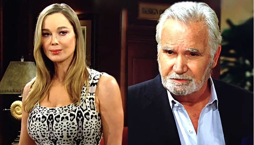 Bold And The Beautiful Scoop: Eric Forrester Confides In Donna Logan
