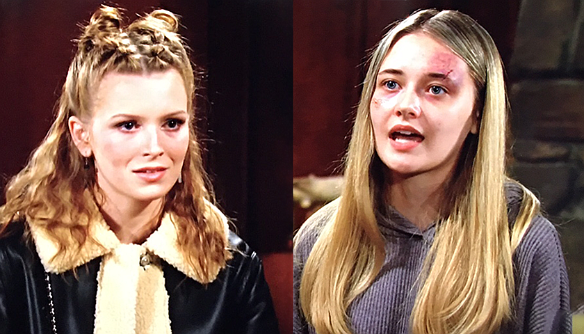 Young And The Restless Scoop: Faith Newman Won't Accept Jordan's Apology