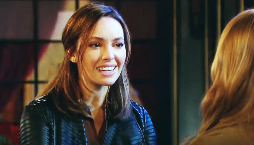 Days Of Our Lives Scoop: Gwen Rizczech Argues With Abigail DiMera