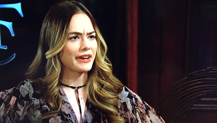 Bold And The Beautiful Scoop: Hope Spencer Senses Something's Off With Her Husband