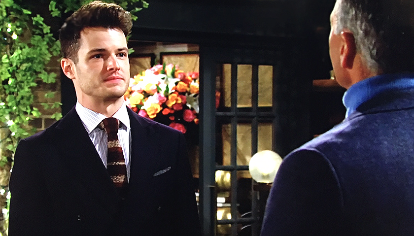 Young And The Restless Scoop: Kyle Abbott Approaches Ashland Locke