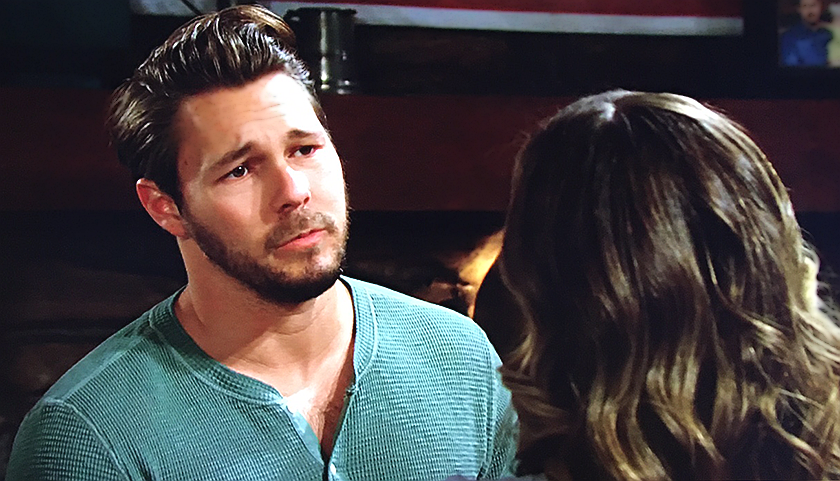 Bold And The Beautiful Scoop: Liam Spencer Talks To Hope Spencer