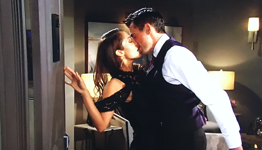 Young And The Restless Scoop: Lily Winters And Billy Abbott Share First Onscreen Kiss