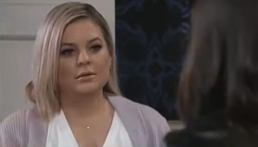 General Hospital Spoilers: Maxie Jones Gets A Visit From Anna Devane