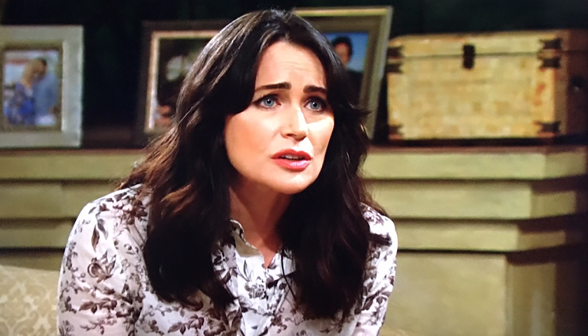 Bold And The Beautiful Scoop: Quinn Forrester Is On Zoe Buckingham's Side