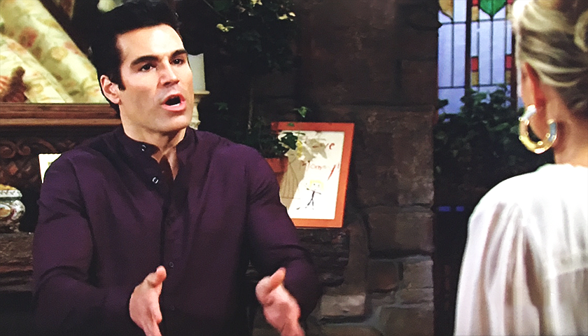 Young And The Restless Scoop: Rey Rosales Tells Sharon Rosales They're Through