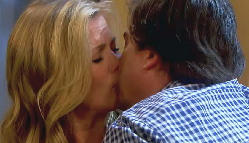 Days Of Our Lives Scoop: Sami Brady And Lucas Horton Share A Smooch