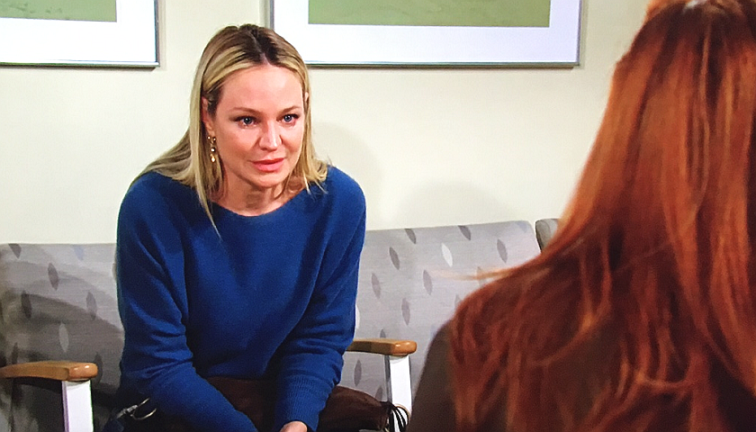 Young And The Restless Scoop: Sharon Newman Talks To Mariah Copeland