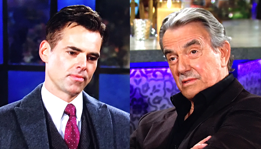Young And The Restless Scoop: Victor Newman Tells Billy Abbott He's coming for him