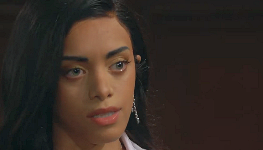 Bold And The Beautiful Scoop: Kiara Barnes Exiting As Zoe Buckingham