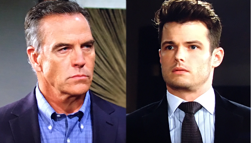 Young And The Restless Scoop: Ashland Locke Arrives At Kyle Abbott's Door