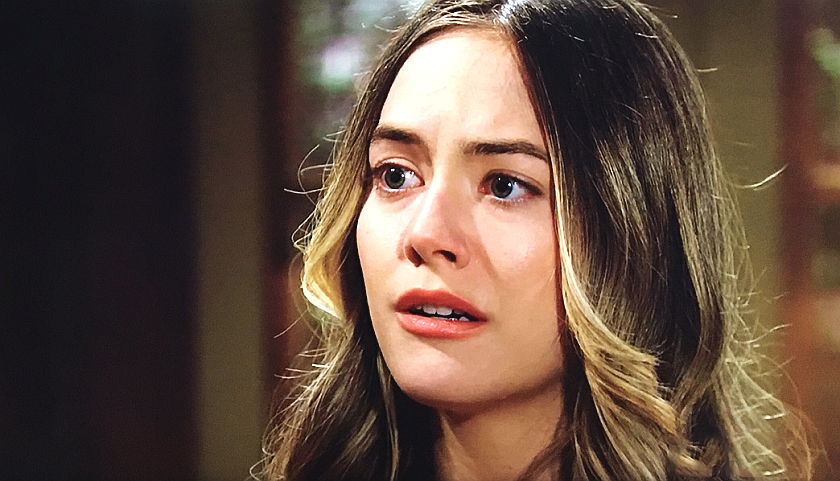 Bold And The Beautiful Scoop: Hope Spencer Reacts To Liam Spencer's Confession