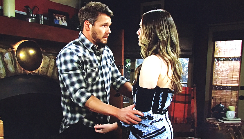 Bold And The Beautiful Scoop: Liam Spencer And Hope Spencer Declare Their Love