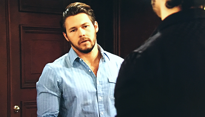 Bold And The Beautiful Scoop: Liam Spencer Apologizes To Thomas Forrester