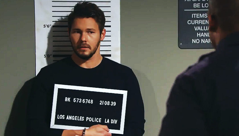 Bold And The Beautiful Scoop: Liam Spencer Is Arrested And Booked