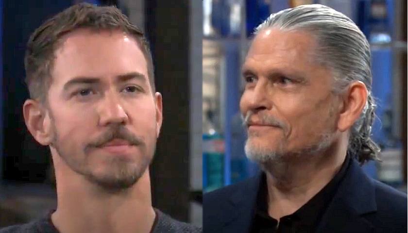 General Hospital Scoop: Peter August And Cyrus Renault Encounter Each Other At The Metro Court