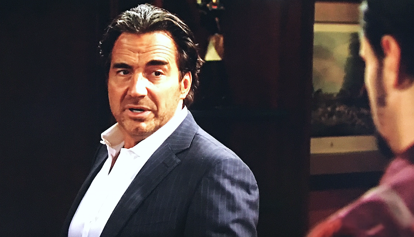 Bold And The Beautiful Scoop: Ridge Forrester Defends His Son