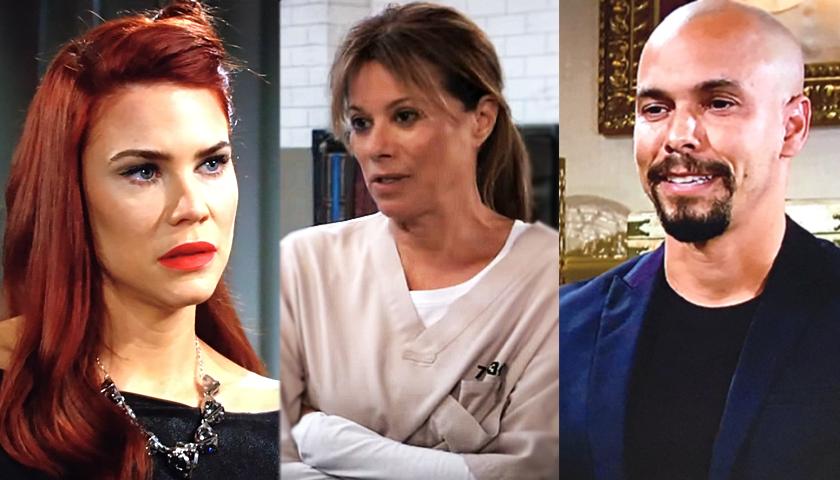 Daytime Emmys Nominees: Courtney Hope - Nancy Lee Grahn - Bryton James