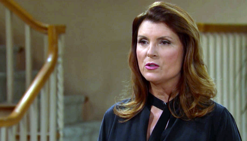 Bold And The Beautiful Scoop: Sheila Carter Confronts Quinn Forrester