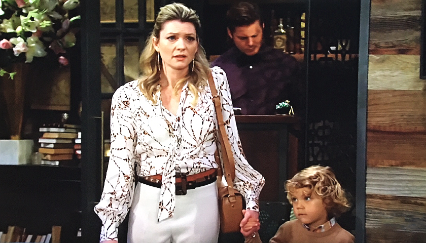 Young And The Restless Scoop: Tara Locke And Harrison Locke Crash Skyle's Engagement Party