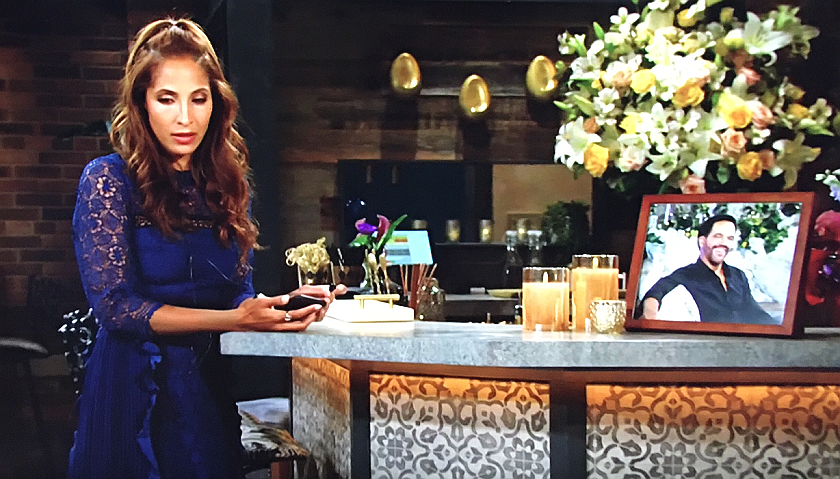 Young And The Restless Scoop: Lily Winters Mourns Her Father Neil Winters