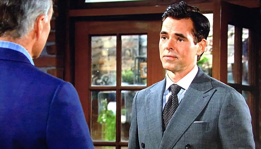 Young And The Restless Scoop: Billy Abbott Threatens Ashland Locke