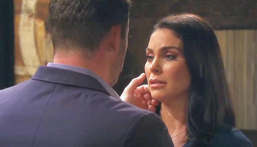 Days Of Our Lives Scoop: Brady Black Moves In To Kiss Chloe Lane