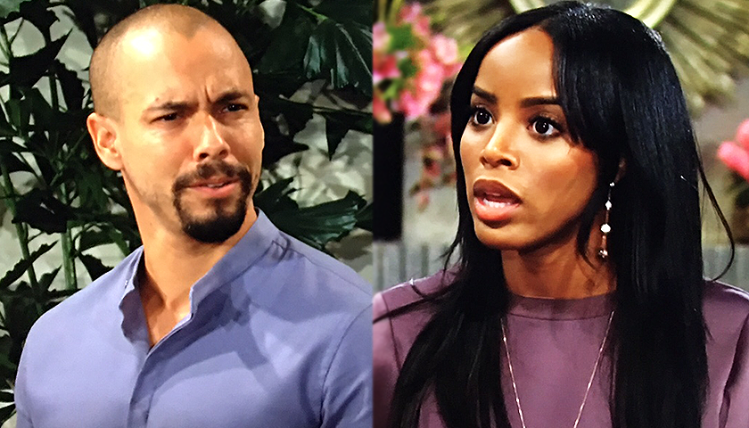Young And The Restless Scoop: Imani Benedict Lashes Out At Devon Hamilton
