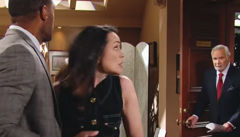 Bold And The Beautiful Scoop: Eric Forrester Catches Quinn Forrester With Carter Walton