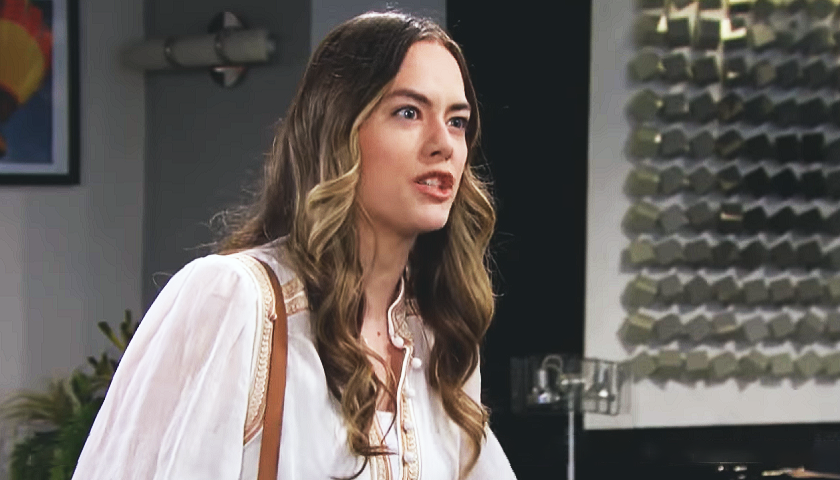 Bold And The Beautiful Scoop: Hope Spencer Blasts Bill Spencer