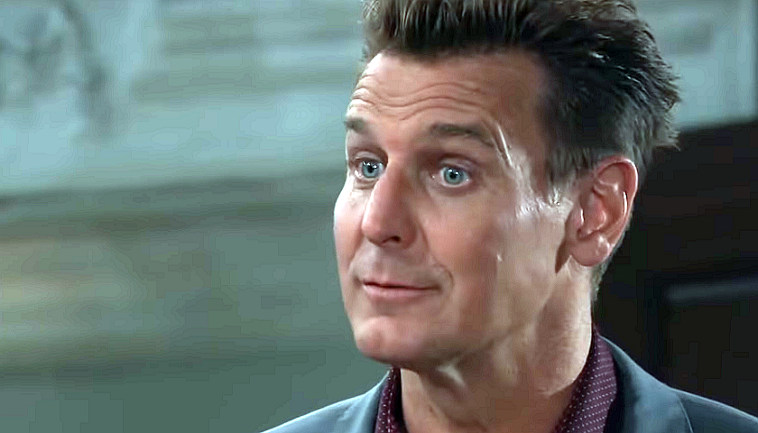 General Hospital Scoop: Jasper Jacks Has A Discussion With Carly Corinthos