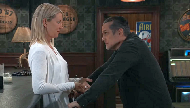 General Hospital Scoop: Sonny Corinthos Makes A Move On Nina Reeves