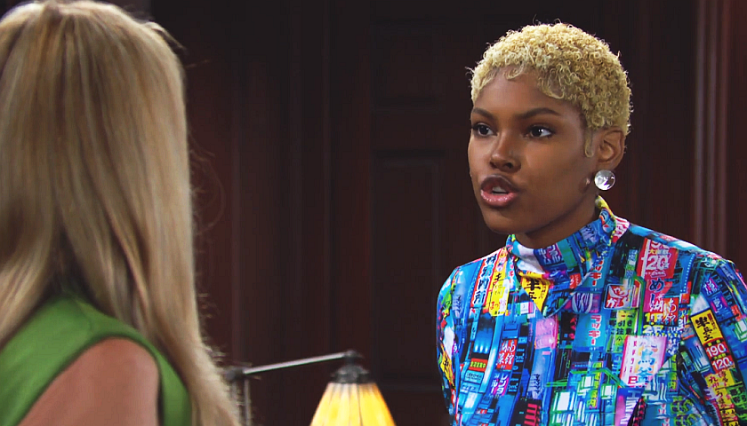Bold And The Beautiful Scoop: Paris Buckingham Tells Shauna Fulton She Knows The Truth