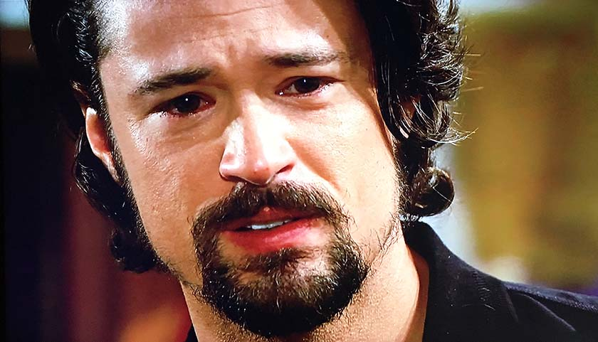 Bold And The Beautiful Scoop: Thomas Forrester Realizes Vinny Walker Killed Himself
