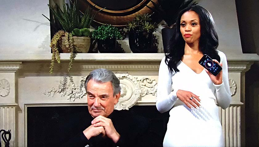 Young And The Restless: Amanda Sinclair And Victor Newman Pull One Over On Sutton Ames