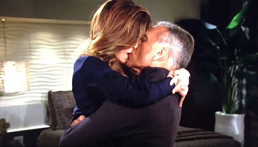 Young And The Restless: Victoria Newman And Ashland Locke Kiss