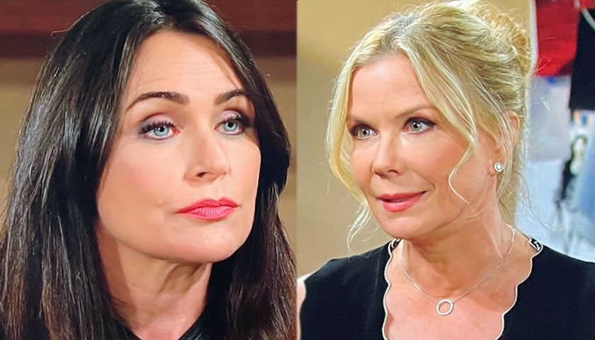 Bold And The Beautiful: Brooke Forrester Is Furious When She Sees Quinn Forrester