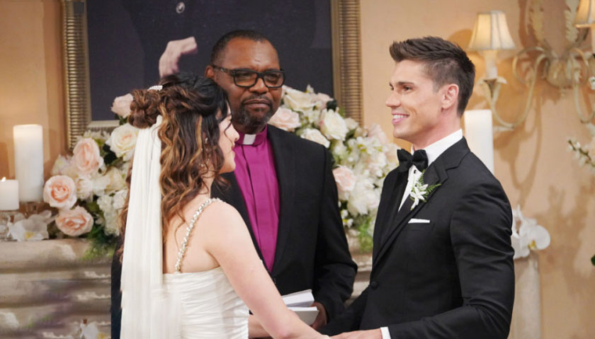 Bold And The Beautiful: Steffy Forrester Marries John Finnegan