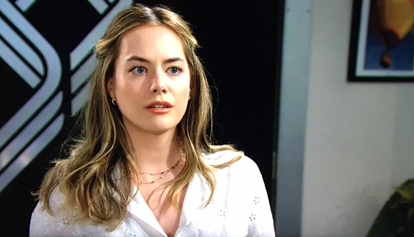 Bold And The Beautiful: Hope Spencer Is Suspicious Of Justin Barber