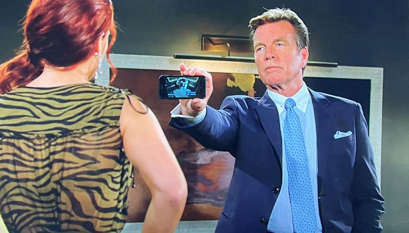Young And The Restless: Jack Abbott Confronts Sally Spectra
