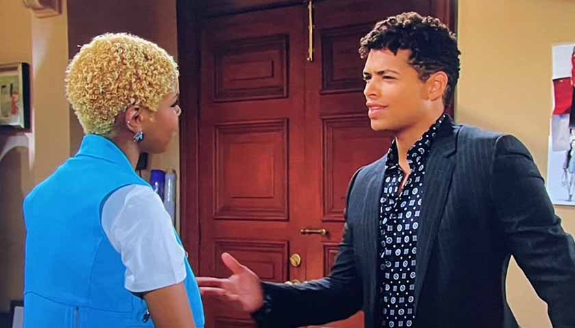 Bold And The Beautiful: Zende Forrester Surprised By Paris Buckingham's Living Arrangement