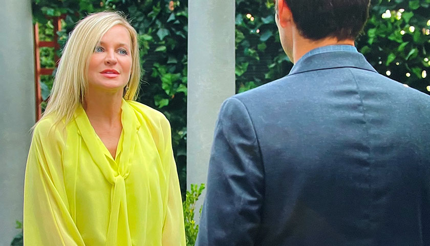 Young And The Restless: Sharon Rosales Sees Adam Newman At Chancellor Park